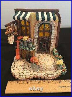 1086-D Hummel Goebel Limited Edition Blooming Delights Musical Figurine Display