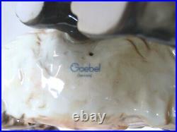 11 COLORED GOEBEL HUMMEL GERMANY pouncing FOX FIGURINE MINT CONDITION Model014