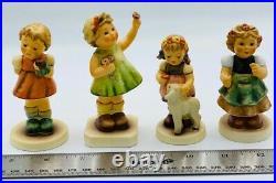 11 Hummel Goebel Figurines Lot, Excellent Condition