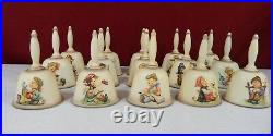 15 Hummel Goebel Annual Bells Complete Collection 19781992 With Original Boxes