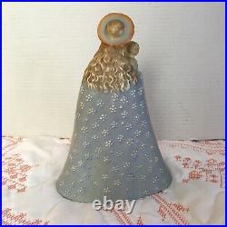 1950s Full Bee Hummel Flower Madonna 9 Open Halo Figure Germany