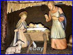 1951 Vintage Goebel Hummel Nativity 13 Piece Set