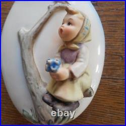Antique Vintage Set of 3 Hummel Goebel Wall Pocket Vase-BOY & GIRL- # 360/A B C