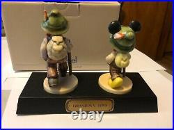 Disney Convention Goebel Hummel Grandpa's Boys Mickey Mouse LE 353/1500 Signed