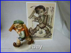 FIRST OFFER to the WORLD old rare MI Hummel/Goebel figurine UNKNOWN 410/3/0