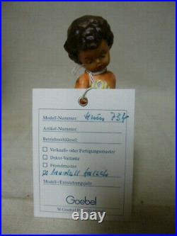 FIRST OFFER to the WORLD old rare MI Hummel/Goebel figurine UNKNOWN 734