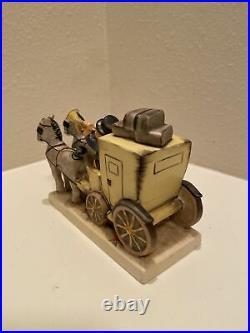 Goebel HUMMEL W. Germany Figurine #226 THE MAIL IS HERE Stagecoach TMK 6