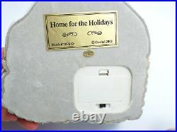Goebel Hummel #2047 Winter Sleigh Ride & Scene #1075-D Home For The Holidays
