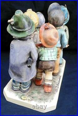 Goebel Hummel Adventure Bound Figurine Tmk 6 # 347 7.5 High W. Germany No Box