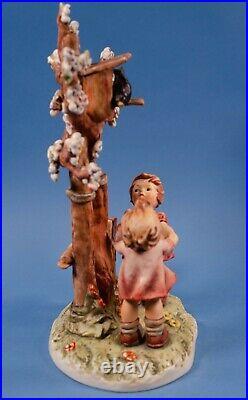 Goebel Hummel Century Collection Welcome Spring Figurine 635 Original Box TMK 7