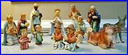 Goebel Hummel Christmas Nativity Set 15 pieces Vintage