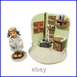 Goebel Hummel Comfort and Care With Healing Hands Nurse Lot Set #2075 & 1027D
