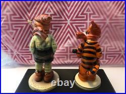 Goebel Hummel Disney Tigger March Winds Figurine Set 50 Years RARE Special Ed