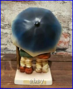 Goebel Hummel Figurine 71 2/0 Stormy Weather 1984