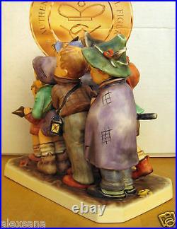 Goebel Hummel Figurine Adventure Bound Hum #347 Tmk7 Germany Mib $4900