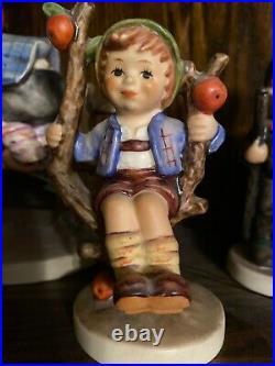 Goebel Hummel Figurine Apple Tree Boy 142 3/0 TMK-7 4.125 Germany Vintage