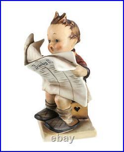 Goebel Hummel Figurine Latest News 184 Full Crown c1946 TMK-1