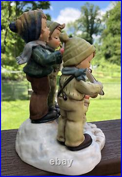 Goebel Hummel Figurine STRIKE UP THE BAND #668 Century Collection 1995 Mint Box