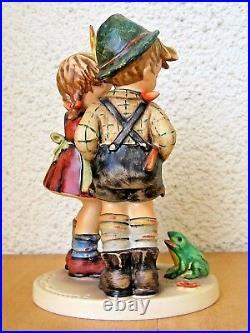 Goebel Hummel Figurine Timid Little Sister Hum #394 Tmk6 Germany Mint S213