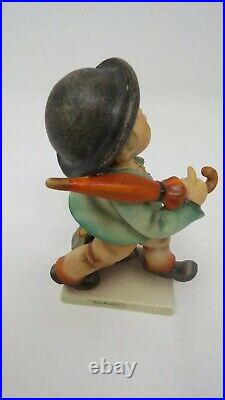 Goebel Hummel Germany Vintage Figurines. Merry Wanderer