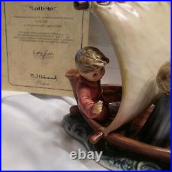Goebel Hummel Land In Sight 530 with Box COA Medal Mint Limited #13919
