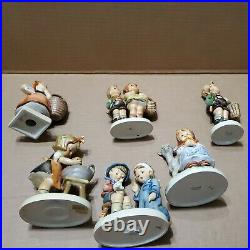 Goebel Hummel Little Nurse 376 + Lot of 6, #'s 319 49 13 51 182 376 Vintage love