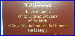 Goebel Hummel Madonna and Child 75th. Anniversary Birth of Sister Hummel RARE
