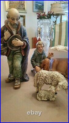 Goebel Hummel Nativity 15 Piece Set 260 Jumbo Moorish King 13 and a half inches
