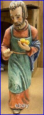 Goebel Hummel Nativity 17 pcs Including Stable, 260 Jumbo Size Figurines, 1968