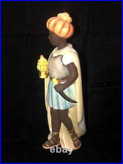 Goebel Hummel Nativity Figurine MOORISH KING 1950s Beauty! TMK-2 Full Bee