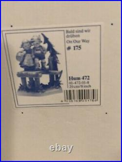 Goebel Hummel ON OUR WAY #472 CENTURY COLLECTION 7TH IN SERIES FIGURINE MINT