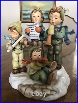 Goebel Hummel STRIKE UP THE BAND #668 TMK7 in MINT CONDITION with ORIGINAL BOX