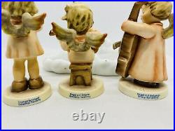 Goebel Hummel Scape Angel Set Heavenly Harmony Trio String Symphony Cloud Base