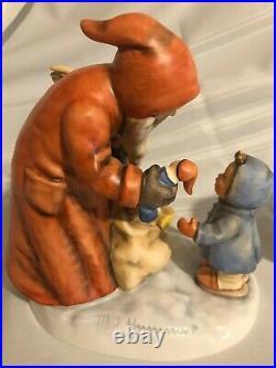 Goebel Hummel St. Nicholas' Day #1114 And Ruprecht #252 Set