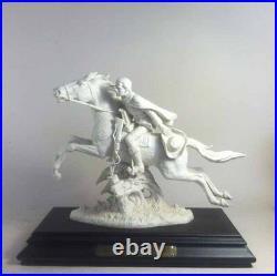 Goebel (Hummel maker)Porcelain Statue Paul Revere's Midnight Ride Bicentennial