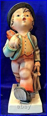 Goebel M. I. Hummel Figurine, Merry Wanderer, # Hum 7/ii, 10 High, Hbv $1,800