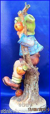 Goebel M I Hummel Figurine Pair, Apple Tree, Hum 141/v & 142/v, @ 10, $3,300