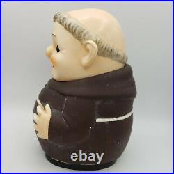 Goebel Monk Cookie Jar 1957 Friar Tuck West Germany Hummel Ceramic Signed Vintag
