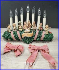 Goebel Studio Hummel Illuminated Christmas Mantle Joy To The World Limited Run