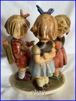 Goebell Hummel School Girls Figurine Germany