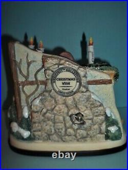 HUMMELCHRISTMAS WISH HUMMELSCAPE FIGURINE SET HUM 2094 TMK 8 WithBOX & COAs MINT