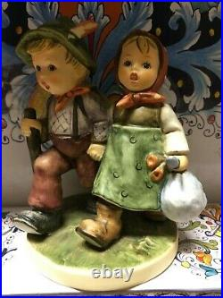 HUMMELSGRANDMA'S GIRL(RARE!) HUM 561 TMK8 AND GRANDPA'S BOY WithORIG BOX HUM 5