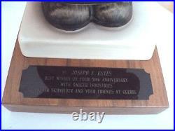 HUMMEL FIGURINE MEDITATION 13/V, 14 Gift from Goebel to Haeger Pottery