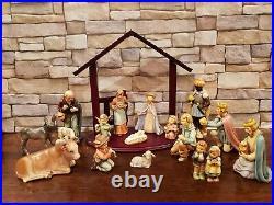 HUMMEL GOEBEL Nativity 214 15-piece Set