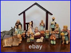 HUMMEL GOEBEL Nativity 214 15-piece Set MINT