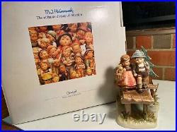 HUMMEL GOEBEL ON OUR WAY #472TMK 7Century Collection LARGE RP $1500 MIB
