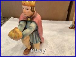 HUMMEL Goebel 7 PC Christmas NATIVITY SET #214 large