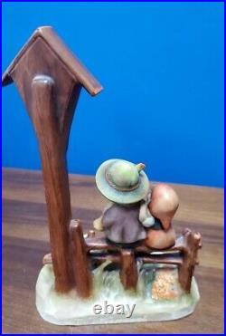 HUMMEL Goebel Figurine #28/2 WAYSIDE DEVOTION Trademarks 1 & 2 7-1/2 REPAIR