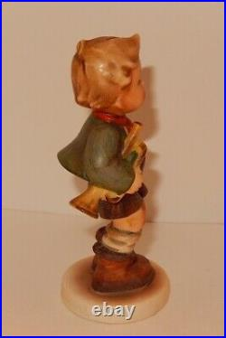HUMMEL Goebel Figurine TRUMPET BOY Vintage WWII