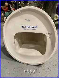 HUMMEL SIGNED THE LOVE LIVES ON PORCELAIN CLOCK CHAPEL TIME 442 TM6 withBOX MINT